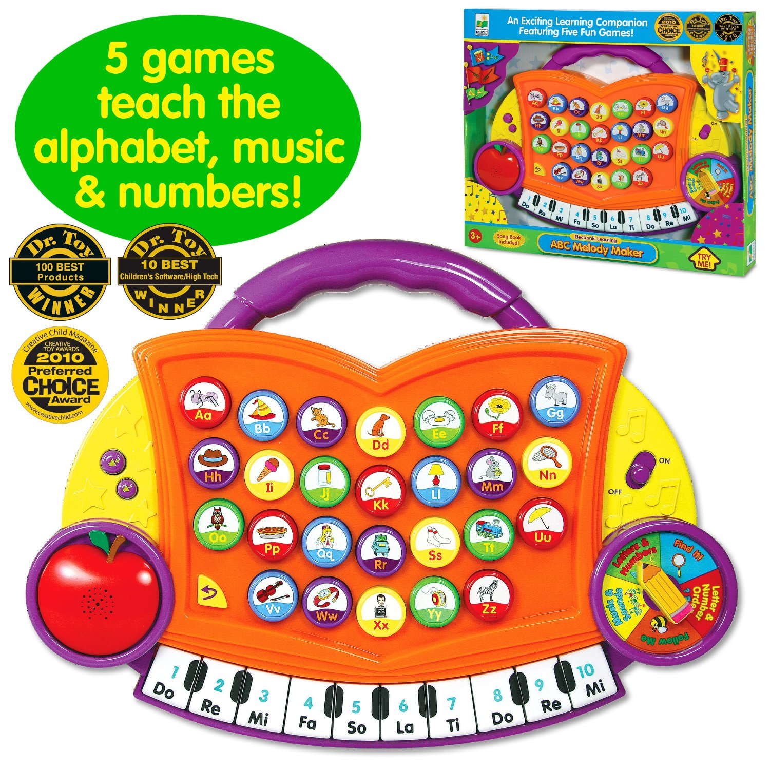 The Learning Journey ABC MELODY MAKER Just4bb