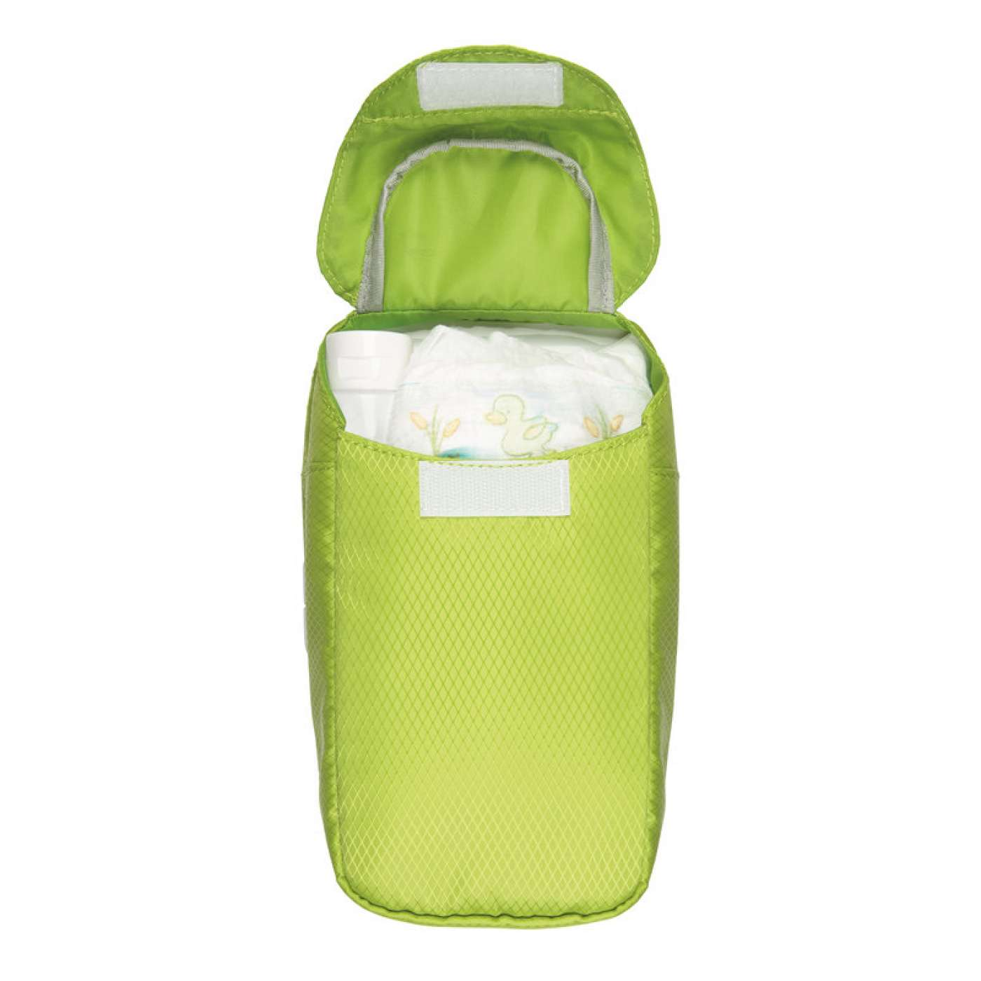 oxo tot on the go wipes dispenser with diaper pouch green. Black Bedroom Furniture Sets. Home Design Ideas