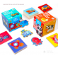 Joan Miro Baby First Puzzle & Flash Cards 2 in 1 set (32 Animals)