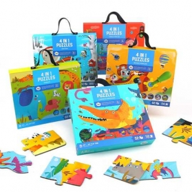 Joan Miro 4 In 1 Puzzles Gift Box