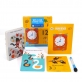 Joan Miro Wipe Clean Reusable Leaning Cards with Wipe Clean Marker - Numbers