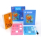 Joan Miro Wipe Clean Reusable Leaning Cards with Wipe Clean Marker - Addition & Subtraction