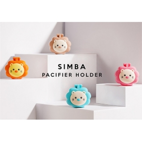 SIMBA Pacifier Holder Strap With Case (NEW Version)