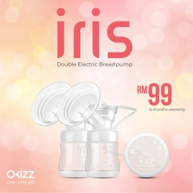 OKIZZ IRIS DOUBLE ELECTRIC BREAST PUMP