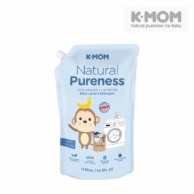 KMOM Organic Baby Laundry Detergent - Refill Pack (1300ml)