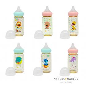 Marcus & Marcus PPSU Wide Neck Transition Feeding Bottle (300ML)