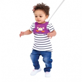 TRUNKI ToddlePak Children Safety Reins - Purple Ollie
