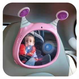 Benbat TF Active Car Mirror - Pink