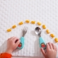 Skip Hop Zootensils - Fork & Spoon - Hedgehog