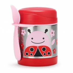 Skip Hop Zoo Insulated Food Jar - Ladybug