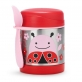 SKIP HOP Zoo Insulated Thermal Food Jar 325ml - Ladybug