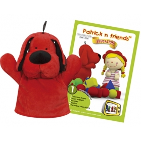 K'S KIDS Patrick & Friends DVD Cartoon with Hand Puppet - Patrick
