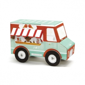 Krooom 3D Fold My Car - Ice Cream Truck
