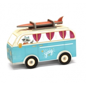 Krooom 3D Fold My Car - Hippie Van