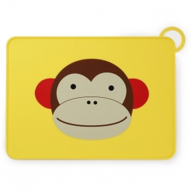 Skip Hop Zoo Fold & Go Placemat - Monkey