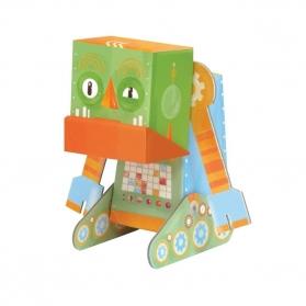 Krooom 3D Fold My Robot - Grumpy