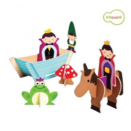 Krooom Felix & Orlando - Prince Theme Figures