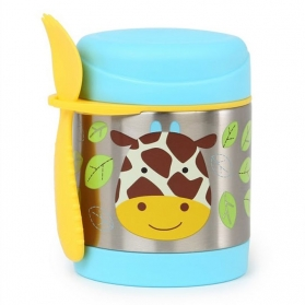 SKIP HOP Zoo Insulated Thermal Food Jar 325ml - Giraffe