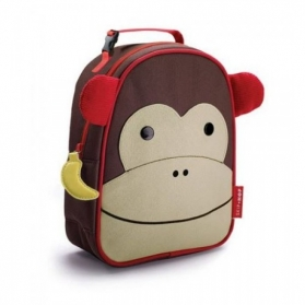 Skip Hop Zoo Lunchie Insulated Bag Lunch Box - Monkey