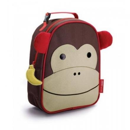 Skip Hop Insulated Zoo Lunchie Bag - Monkey