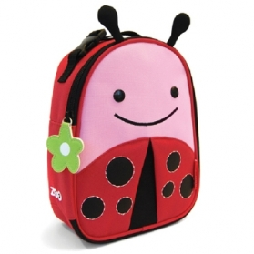 Skip Hop Insulated Zoo Lunchie Bag - Ladybug