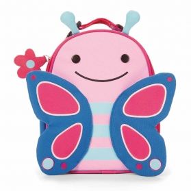 Skip Hop Insulated Zoo Lunchie Bag - Butterfly