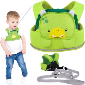 TRUNKI ToddlePak Children Safety Reins - Green Dudley