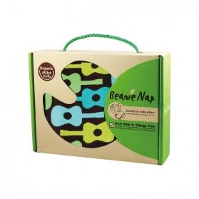 Beanie Nap Organic Comforter Baby Pillow - Guitar
