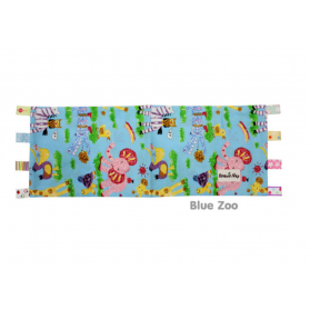 Beanie Nap Pillow Cover with Taggies - BlueZoo