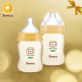 SIMBA PPSU Feeding Bottle (Twin Pack) - Wide Neck 200ml (6oz)
