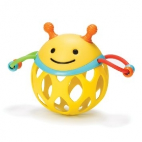 SKIP HOP Roll-Around Rattle - Bee