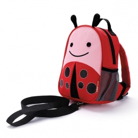 Skip Hop Zoo Let Mini Backpack with Rein - Ladybug
