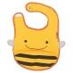 SKIP HOP Zoo Tuck-Away Bib - Bee