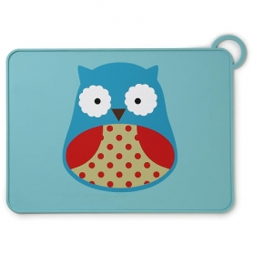 Skip Hop Zoo Fold & Go Placemat - Owl