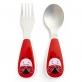 SKIP HOP Zootensils - Fork & Spoon - Ladybug