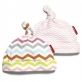 SKIP HOP PINK STARRY CHEVRON HAT SET (2PC)