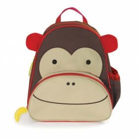 SKIP HOP Zoo Little Kid Backpack - Monkey