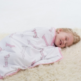 Bubble Dream Kids Cosy Soft Blanket - Puppy Love