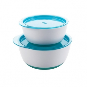 OXO TOT Small and Large Bowl Set - Aqua