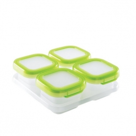 OXO TOT Baby Blocks Freezer Storage Containers - 4 Oz