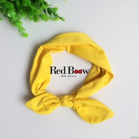 RED BOW HEADWRAP - PRINCESS LILA
