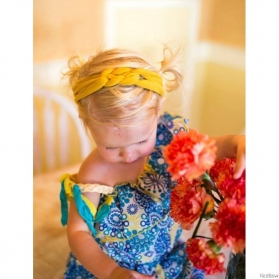 RED BOW HEADWRAP - PRINCESS TAYLOR