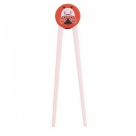 SKIP HOP Zoo Training Chopsticks - Ladybug