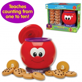 TLJI - LEARN WITH ME - COUNT AND LEARN COOKIE JAR
