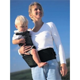 HIPPYCHICK HIPSEAT CARRIER- BLACK