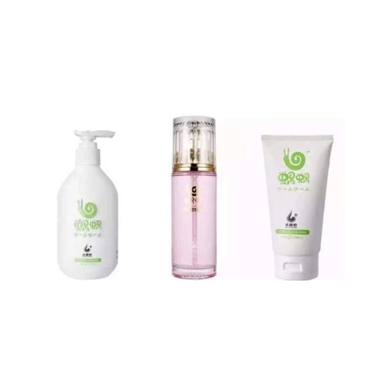 WOWO GINGER SHAMPOO & HAIR CARE SET