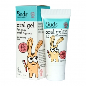 BUDS ORAL GEL FOR BABY TEETH & GUMS (30ML)