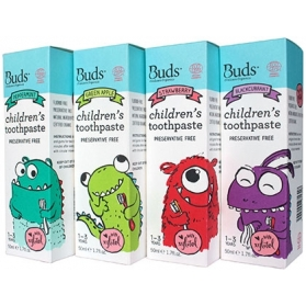 BUDS CHILDREN TOOTHPASTE WITH XYLITOL (50ML)