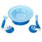 EZEE-REACH Stay-Put Cutlery & Bowl
