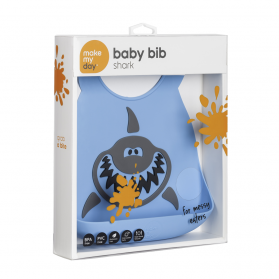Make My Day Baby Bib - Shark
